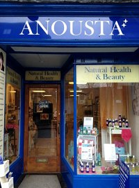 shop front Anousta Natural Skin Care Products