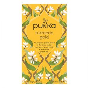 Pukka Tumeric gold tea